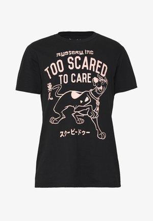 SCOOBY DOO TEE - T-shirt print - black