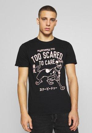 SCOOBY DOO TEE - Camiseta estampada - black