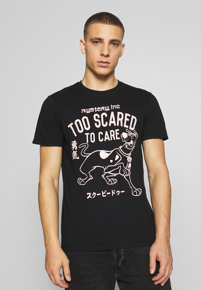SCOOBY DOO TEE - T-shirt z nadrukiem - black