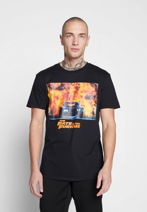 FAST AND THE FURIOUS TEE - Print T-shirt - black