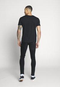 Bioworld - MIAMI VICE NEON TEE - T-shirt print - black - 2