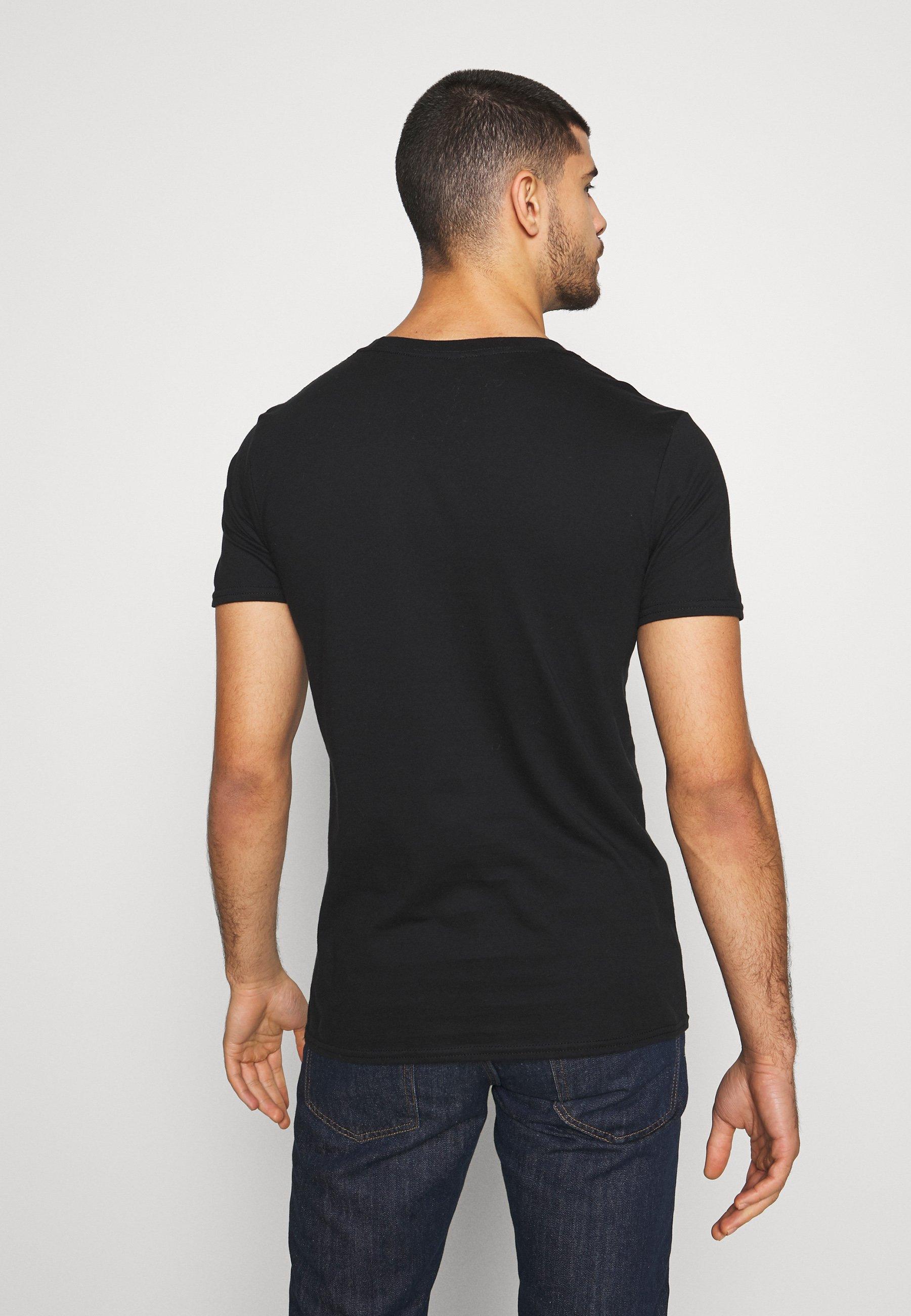 Bioworld BIG LEBOWSKI DUDE TEE - T-shirt z nadrukiem - black