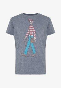 Bioworld - WHERES WALDO - Print T-shirt - charcoal - 3