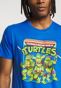 Bioworld - TEENAGE MUTANT NINJA TURTLES TEE - T-shirts print - heather blue - 5