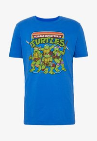 Bioworld - TEENAGE MUTANT NINJA TURTLES TEE - T-shirts print - heather blue
