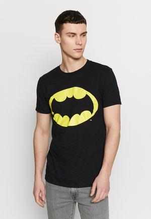 BATMAN CLASSIC LOGO TEE - T-shirts med print - black
