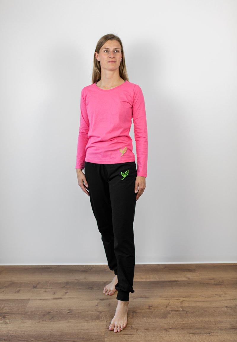 Biyoga - Long sleeved top - rosa