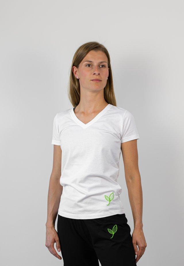 Basic T-shirt - weiß