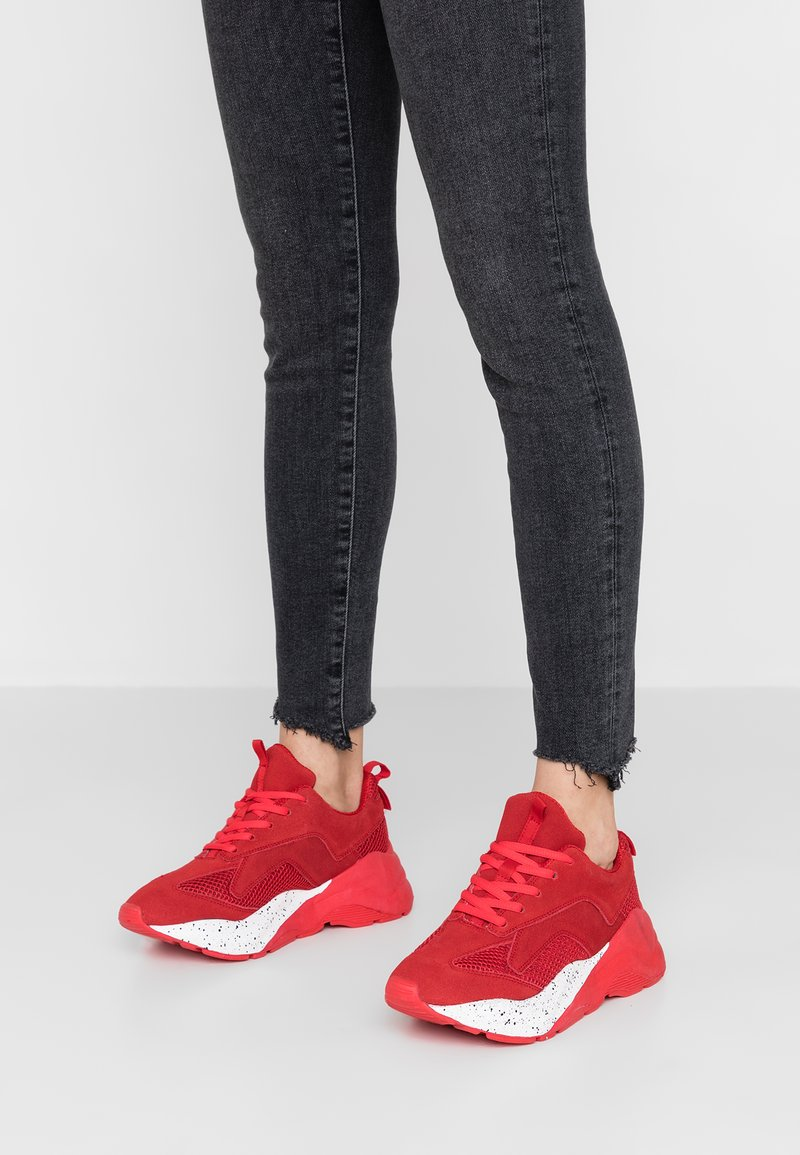 Bianco - BFBECKY - Sneakers laag - red