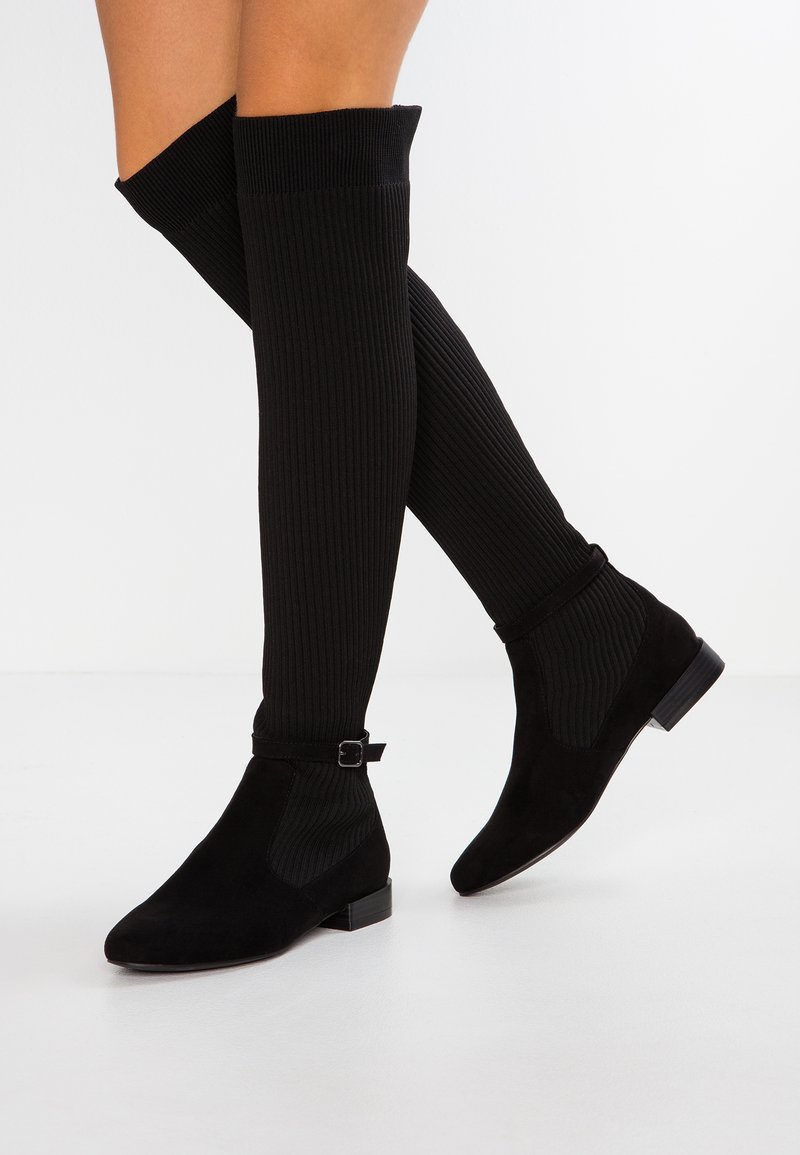 Bianco - BFANNE LONG BOOT  - Over-the-knee boots - black