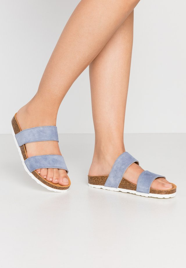 BIABETRICIA TWIN STRAP - Hausschuh - light blue