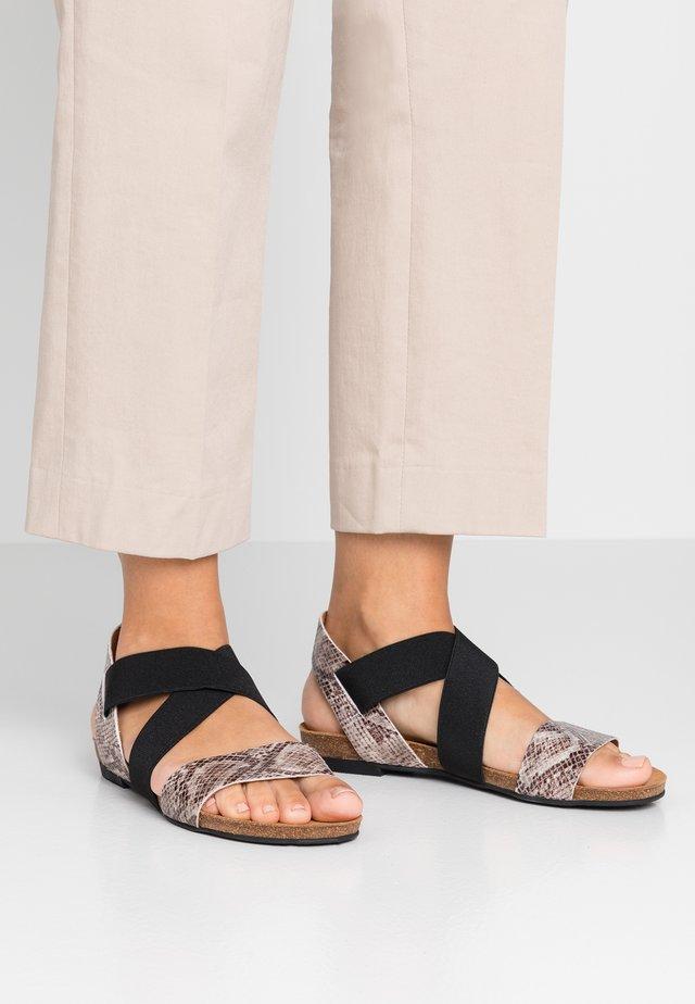 BIACALLIE  - Sandały - beige