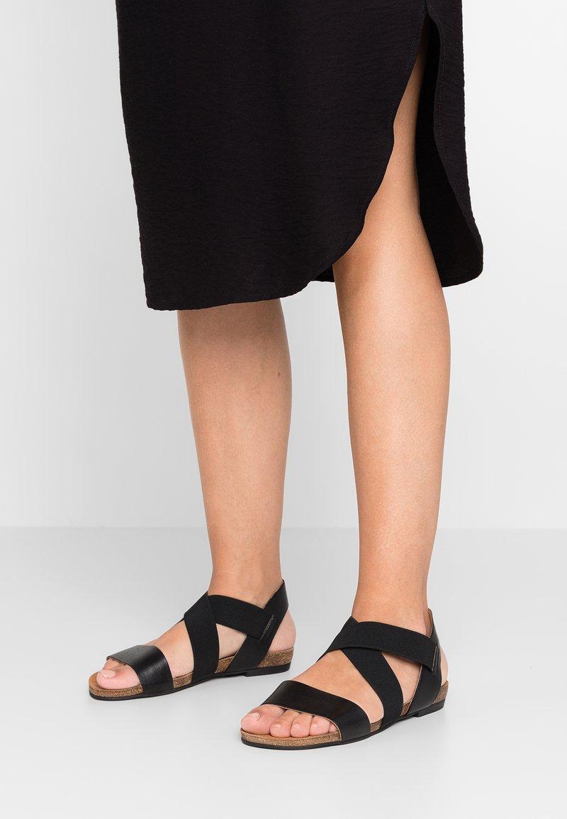Bianco - BIACALLIE  - Sandals - black