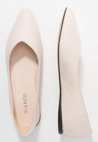 Bianco - BIACAROL SHOE - Baleriny - beige - 3