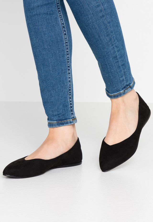 BIACAROL SHOE - Ballerines - black