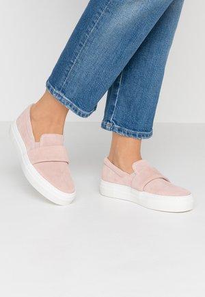 BIACAMILA SHOE - Nazouvací boty - light pink