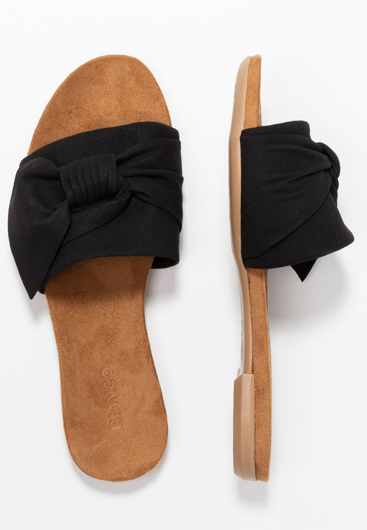 Bianco Bfbonnie Bow Slide - Mules Black