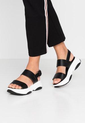 BIAALIA CHUNKY - Sandals - black
