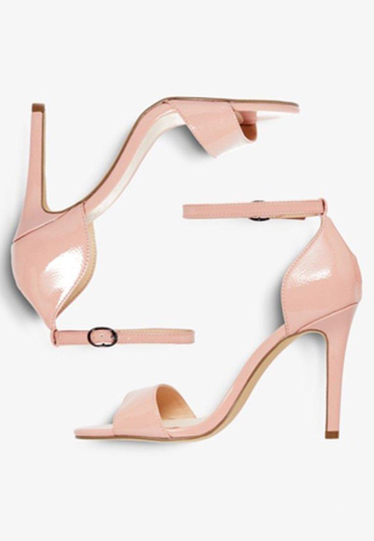 Bianco Sandały na obcasie - pink