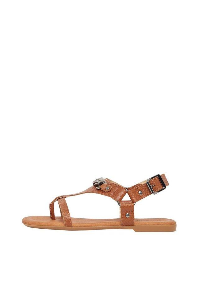 BECCA - Sandals - cognac