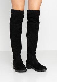 Bianco - BIACLAIRE BOOT - Stivali sopra il ginocchio - black - 0