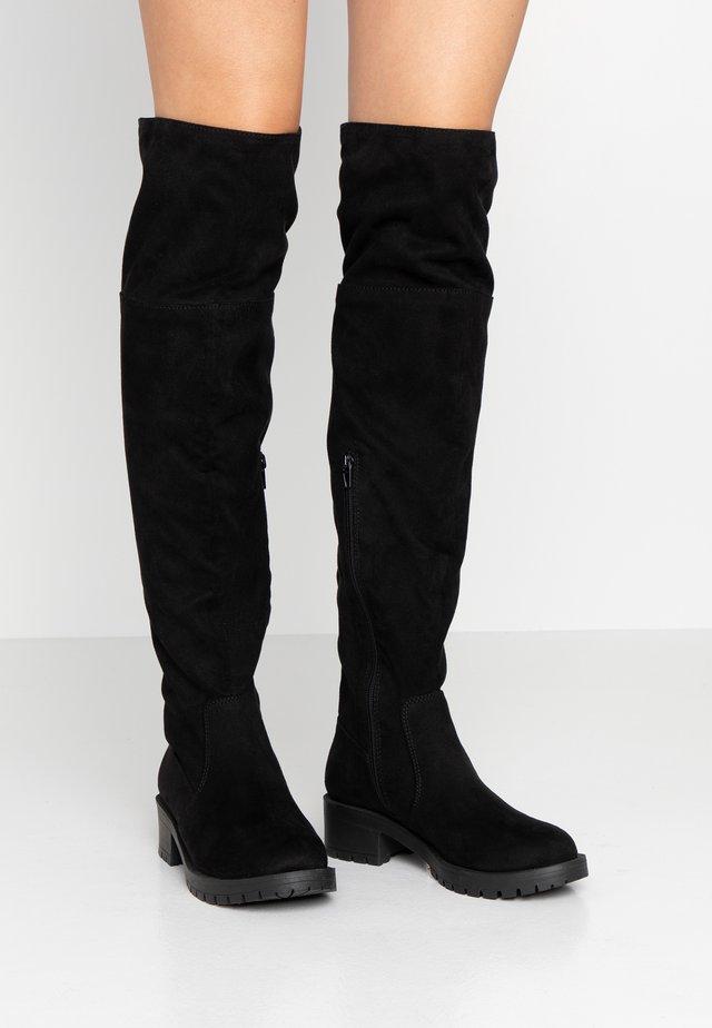 BIACLAIRE BOOT - Overknees - black