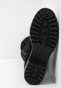 Bianco - BIACLAIRE BOOT - Stivali sopra il ginocchio - black - 6