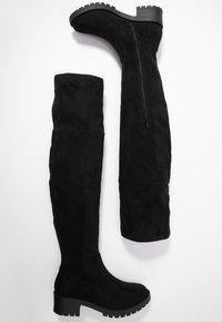 Bianco - BIACLAIRE BOOT - Stivali sopra il ginocchio - black - 3