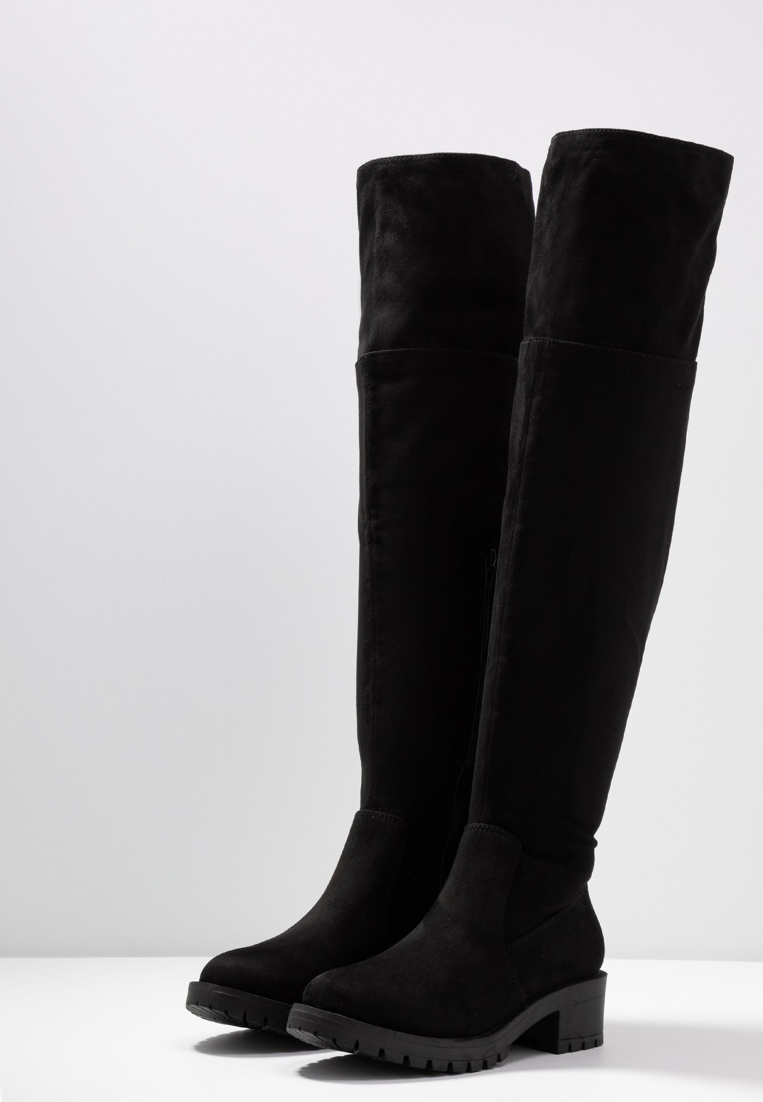 ALDO ARAECIA Overknee laarzen black Zalando.nl