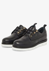 Bianco - CHUNKY - Casual lace-ups - black - 3