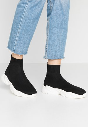 BIACASE SOCK - Sneakersy wysokie - black