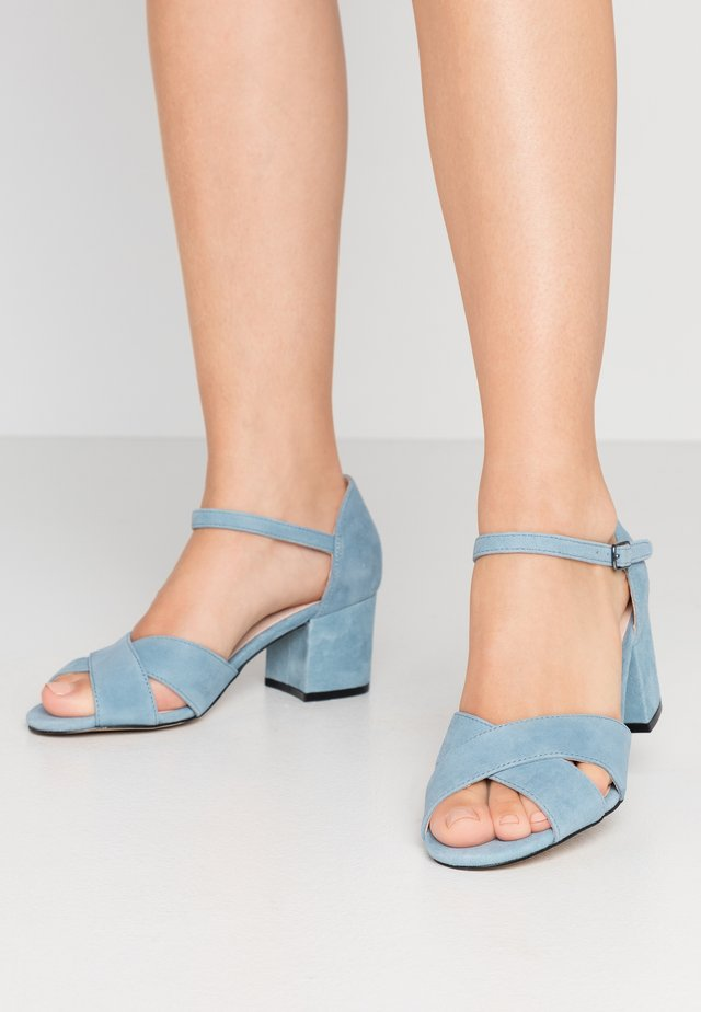 BIACATE CROSS  - Sandals - light blue