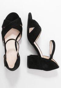 Bianco - BIACATE CROSS  - Sandaalit nilkkaremmillä - black - 3