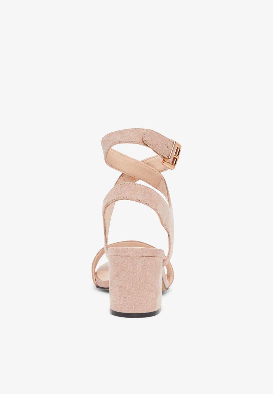 Bianco Biacate Wrap Ankle - Sandals Nougat1