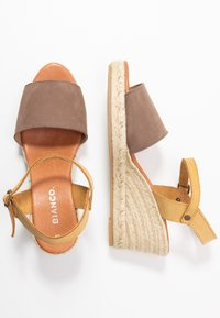 Bianco - BIADARA TOP UP - Espadryle - light brown - 3