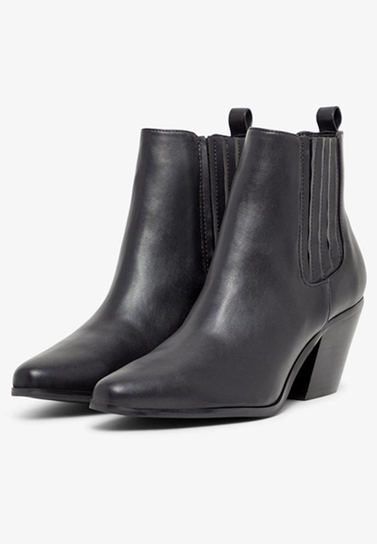 Bianco WESTERN STYLE - Classic ankle boots - black