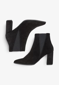 Bianco - High heeled ankle boots - black - 2