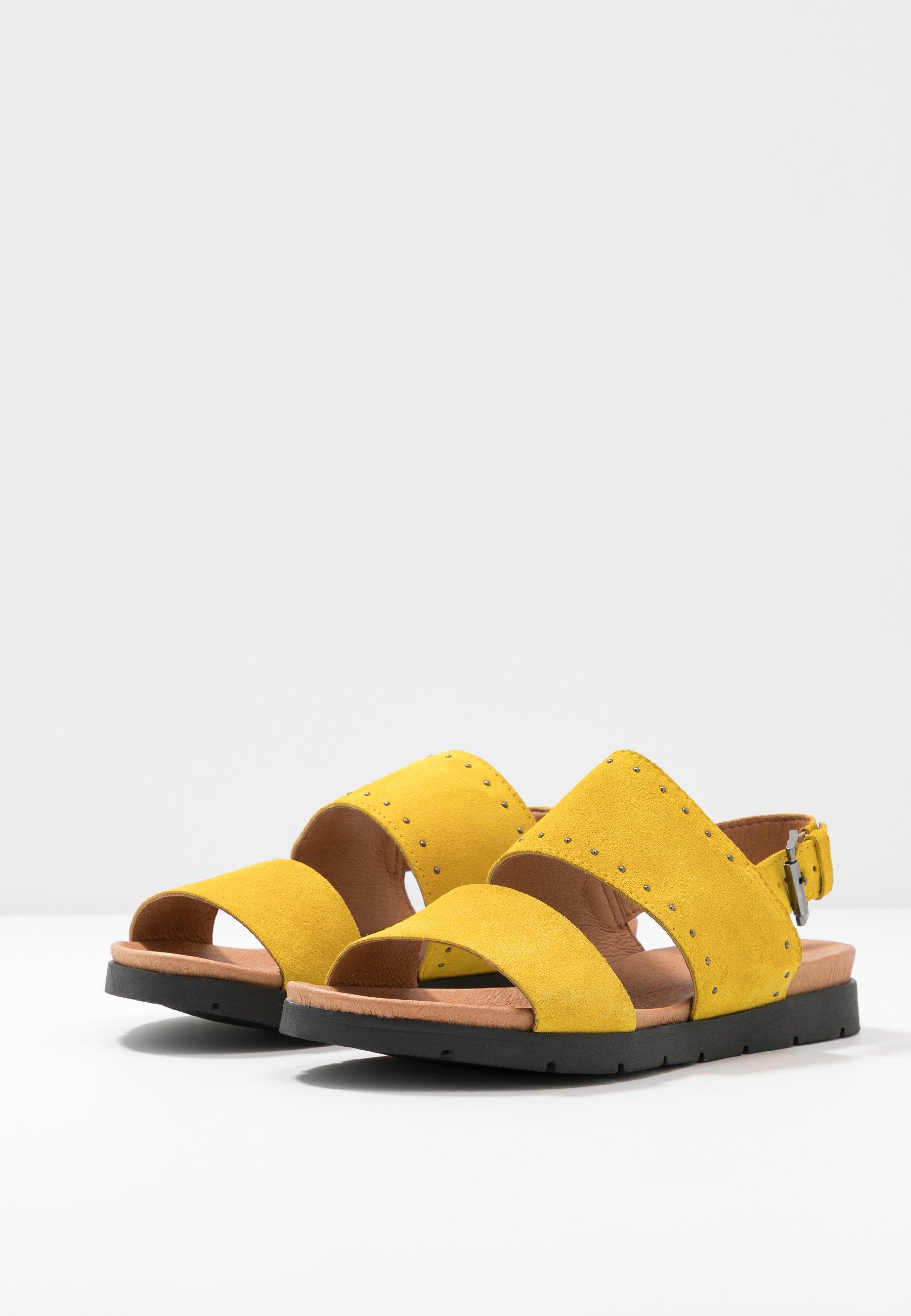 Bianco BIASTORY - Sandały - yellow