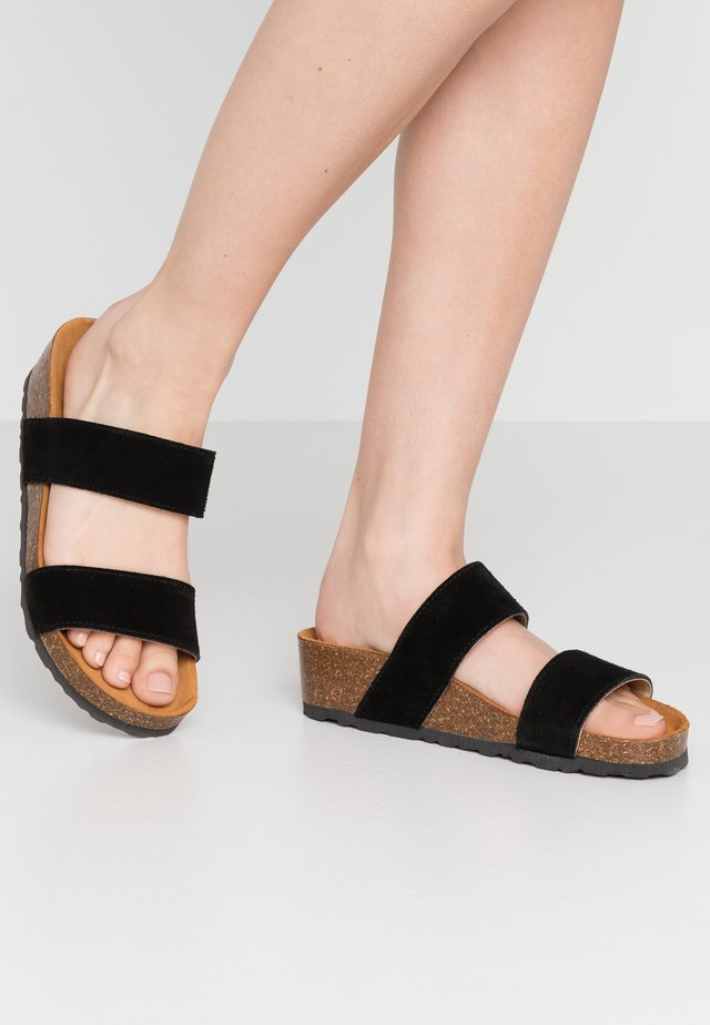 BIABETTY TWIN STRAP - Mules - black
