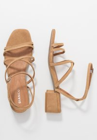 Bianco - BIADEA STRAP  - Sandály - light brown - 3