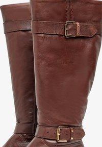 Bianco - Cowboy/Biker boots - dark brown - 4