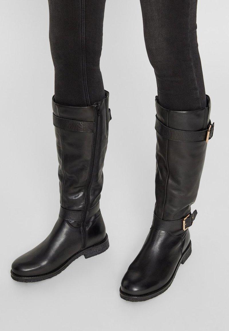 Bianco - Cowboy/Biker boots - black