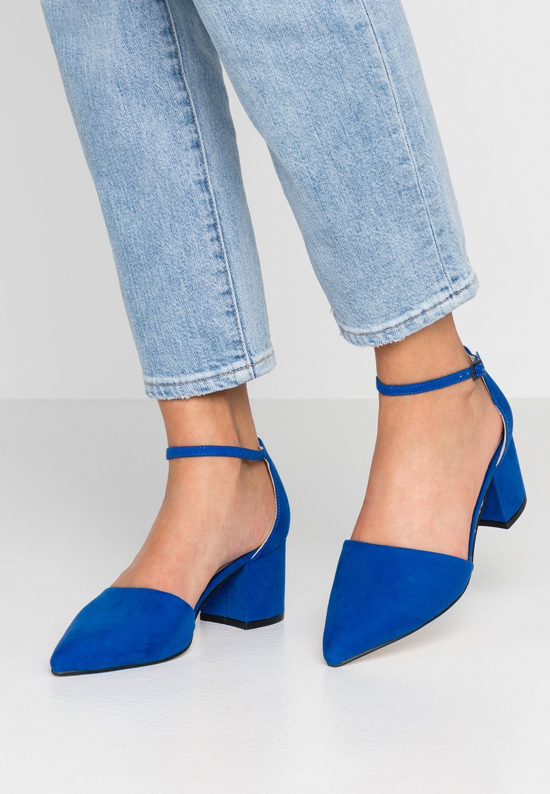 Bianco - BFDIVIVED  - Pumps - colbat blue