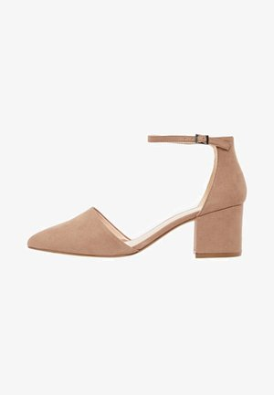BFDIVIVED  - Classic heels - nougat