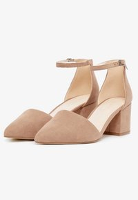 Bianco - BFDIVIVED  - Classic heels - nougat - 3