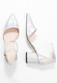 Bianco - BIADIVIVED - Classic heels - silver - 3