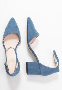 Bianco - BIADIVIVED - Classic heels - light blue - 3