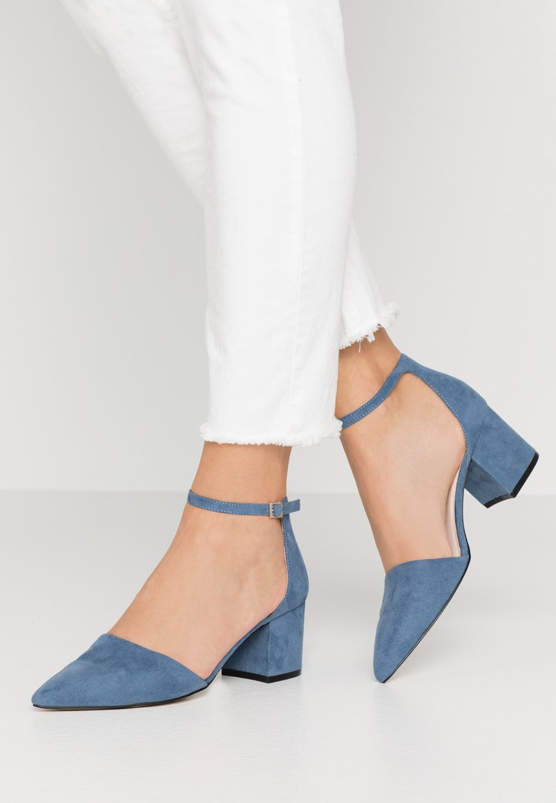 Bianco - BIADIVIVED - Classic heels - light blue