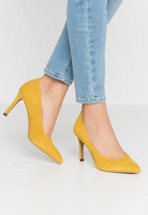 BIACAIT BASIC - High Heel Pumps - yellow