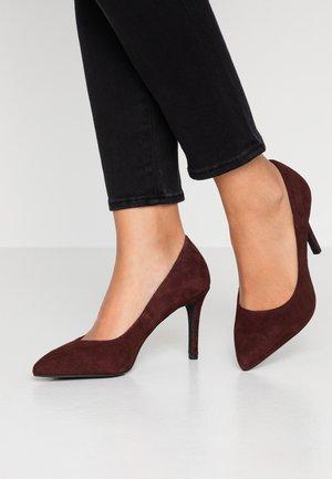 BIACAIT BASIC - High heels - burgundy